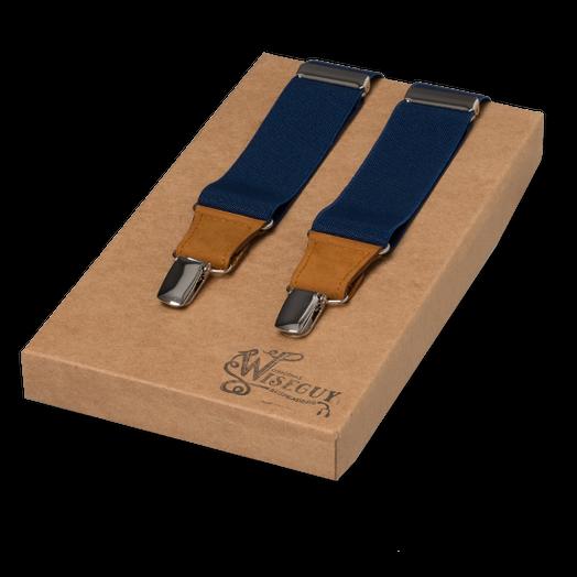 e9a09e78c5cd9 Bretelles Wiseguy Suspenders, Bleu Marine? Commandez-les en ligne au ...