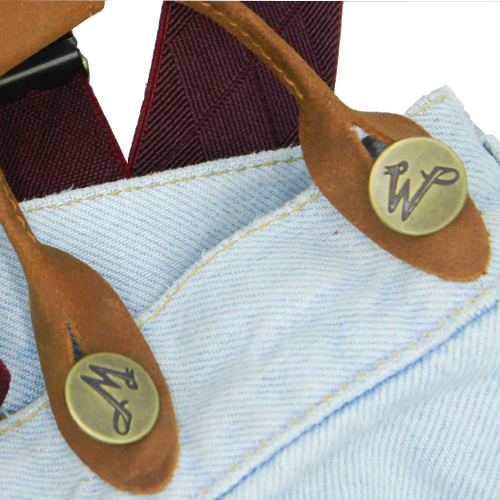 Jeans buttons - Wiseguy Suspenders                                                                         (3)