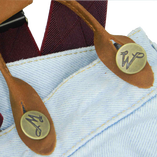 Jeans buttons - Wiseguy Suspenders                                                                         - Thumbnail 3